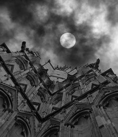 York, England - totally as I recall, dark, gloriously spooky and old. Great photo.