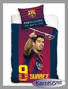 Pościel dla fana Luisa Suareza FC Barcelona - 100% bawełna Carbotex. Pościel z Suarezem w rozmiarze 160x200 cm - już wkrótce dostępna na stronach naszego sklepu  #fc_barcelona  #barcelona_bedding #Suarez