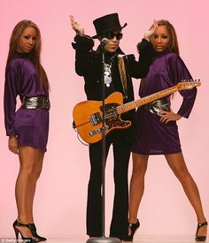 Prince toured with Australians Maya and Nandy McClean who missed out on Australian Idol They were also known as The Twinz. They toured around the globe with Prince for over seven years and were known as Diamond and Pearl | Daily Mail Online