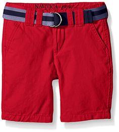 Nautica Boys' Chino Short >>> Check out @