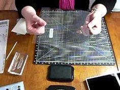 Making an acetate card