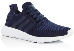 quality design 5a9b9 3181e adidas Men s Swift Run Knit Lace Up Sneakers