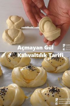 Açmayan Gül Kahvaltılık Tarifi - Welcome to our website, We hope you are satisfied with the content we offer. Sausage Bread, Egg Recipes For Breakfast, Pastry Art, Food Garnishes, Time To Eat, Baked Chicken Recipes, Arabic Food, Turkish Recipes, Food For A Crowd