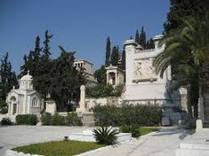 Image result for first national cemetery athens