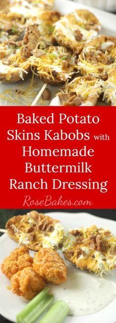 Baked Potato Skins K