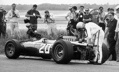 Lorenzo Bandini, Ferrari 312, 1966 French GP, Reims