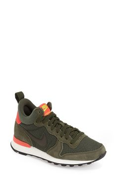 Free shipping and returns on Nike 'Internationalist Mid' Sneaker (Women) at Nordstrom.com. Built for the street, a retro-inspired sneaker styled with panels of suede and mesh is finished with a signature swoosh.