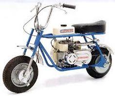 """Hier eine """"Kawasaki Coyote"""". Gab`s ab 1969 in den USA. Zuerst mit 2-Takt, dann mit 4-Takt-Motor. Leistung etwa 3 PS."""
