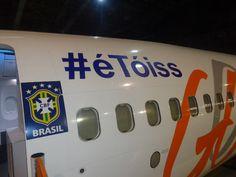 #éTóiss   GOL faz homenagem a Neymar em uma de suas aeronaves - Blue Bus