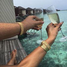 #TRAPGODDESS Pinterest - @houstonsoho   Cheers to the #HIGHLIFE Luxury Lifestyle, Lifestyle News, Rich Lifestyle, Couple Goals, Family Goals, Rich Couple, Love Couple, Luxury Couple, Holiday Mood