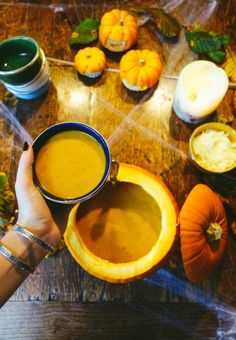 Pumpkin, Sage & Crispy Bacon Soup – The Londoner