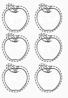 Apple tree cut and paste September Preschool Themes, Fall Preschool, Preschool Learning, Toddler Preschool, Preschool Activities, Preschool Centers, Fine Motor Activities For Kids, Creative Activities For Kids, Infant Activities