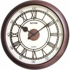Wall Clock 3D Dial Ring RHYTHM