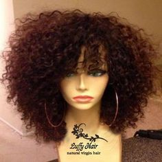 Find More Wigs Information about Fashion unprocessed brazilian virgin human hair wigs kinky curly glueless full lace&lace front wig black women with baby hair,High Quality wig headband,China wigs made in china Suppliers, Cheap wig cap from Luffy Hair Products Co.,Ltd on Aliexpress.com