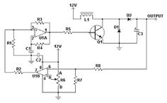 12V To 24V DC-DC Converter Circuit | Electronic Projects
