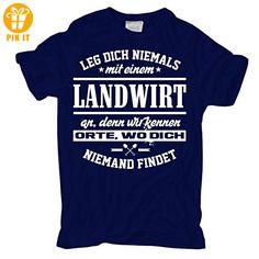 Männer und Herren T-Shirt Leg dich nicht mit einem LANDWIRT an - T-Shirts mit Spruch | Lustige und coole T-Shirts | Funny T-Shirts (*Partner-Link)
