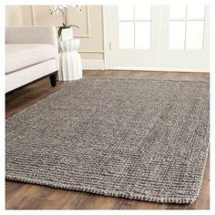 Serena Natural Fiber Area Rug - Light Gray (11' X 15') - Safavieh, Light Grey