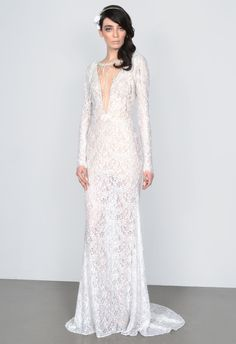 6 Wedding-Worthy Looks From the Miss America 2015 Pageant:  Get Miss Puerto Rico's Look in this Galia Lahav dress