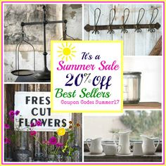 SALE!  Our Best Selling Farmhouse Decor on SALE for a limited time!  Save BIG on All your fixer-upper favorites NOW!
