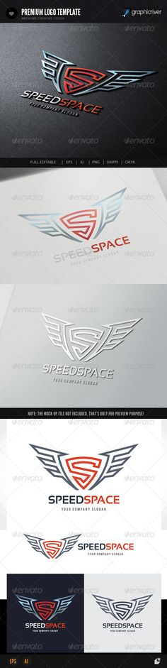 Speed Space - Logo Design Template Vector #logotype Download it here: http://graphicriver.net/item/speed-space-logo/8216478?s_rank=757?ref=nexion
