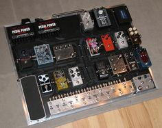 A Pedalboard by Rackdoctor. Guitar Effects Pedals, Guitar Pedals, Boss Pedals, Heavy Metal Guitar, Free Guitar Lessons, Music Guitar, Art Music, Guitar Magazine, Types Of Guitar