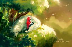 Under the Trees by Jon-Lock.deviantart.com on @deviantART