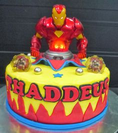 Iron Man Cake by Sassy Cakes and Cupcakes Anna FoodDesserts