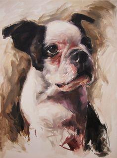 The Dog by ~bauderart on deviantART