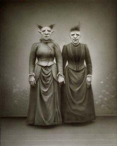 Weird Vintage photo.