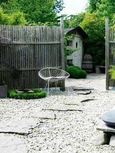 Älskar stenläggningen BO BEDRE - pin by lisa mann Outdoor Rooms, Outdoor Gardens, Outdoor Living, Modern Garden Design, Landscape Design, Love Garden, Home And Garden, Drought Resistant Landscaping, Rustic Outdoor Decor