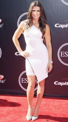 Best Red Carpet Fashions at the 2014 ESPY Awards - Danica Patrick from Beautiful Dresses, Nice Dresses, Espy Awards, Dress Up, Bodycon Dress, Danica Patrick, Fashion News, Fashion Trends, Red Carpet Looks