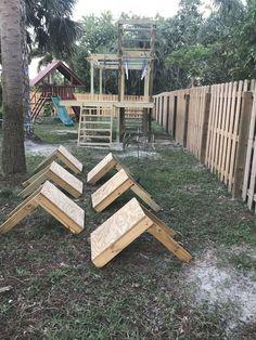 Kids Ninja Warrior, America Ninja Warrior, Ninja Warrior Course, American Ninja Warrior Obstacles, Backyard Jungle Gym, Backyard For Kids, Backyard Projects, Parkour, Backyard Obstacle Course