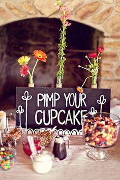 Pimp my cupcake! Bridal shower?? Baby shower??