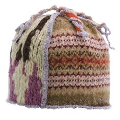 upcycling old sweaters into hats
