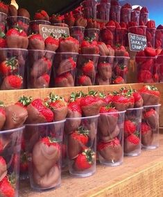 Chocolate strawberries ❤️ shared by on We Heart It