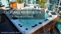 Banheiras Hidro Spas: relaxamento, lazer e saúde | Cachibra - Banheiras…