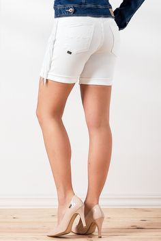 Chic Dress, White Shorts, Jeans, Collection, Dresses, Fashion, Off White Colour, Fringes, Colors