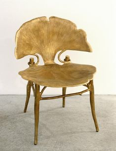 chair designed Francois-Xavier & Claude Lalanne, French, 1960s