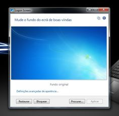 Altere a imagem do logon facilmente — Logon Screen 2.55