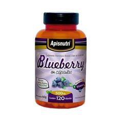 Feito à base de extrato de mirtilo (blueberry) e acerola, o Blueberry 500mg em cápsulas possui uma intensa ação antioxidante neutralizando os radicais livres, que em excesso provocam danos ao nosso organismo, causando o envelhecimento precoce e aumentando o risco de inúmeras doenças, inclusive cardiovasculares. A antocianina responsável pelo efeito antioxidante é uma substância presente no mirtilo.   http://www.maissaudeebeleza.com.br/p/139/blueberry-500mg-com-60-capsulas