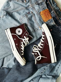 Converse Vintage Charlie Hi Top at Free People Clothing Boutique