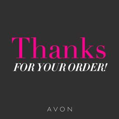 #Thanks for your #order! https://www.avon.com/?s=ShopTab&rep=mmcmurrin&utm_medium=rep&c=MB_Pinterest&utm_source=MB_Pinterest