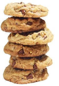 Choclate Chip & Walnut cookie anyone? @Doubletree