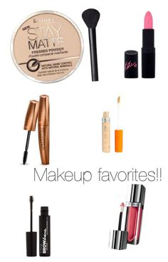 """My makeup favorites! (Read D)"" by thepie76 ❤ liked on Polyvore featuring beauty, Rimmel, NARS Cosmetics and Maybelline"