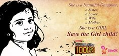 Save the GIRL child! Share to spread awareness!