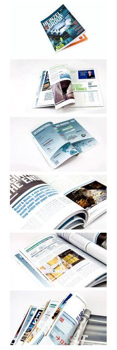 grafische gestaltung und umsetzung des heinzel group geschäftsberichts 2013 in zusammenarbeit mit be.public – corporate & financial communications Corporate, Editorial Design, Public, Editorial Layout