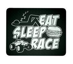 R/C Eat Sleep Race - Mouse Pad