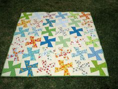 Cool design for quilt!