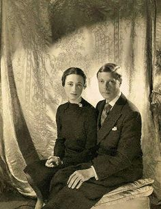 Edward and Wallis Simpson - King Edward VIII did something that monarchs do not have the luxury of doing - he fell in love. - King Edward was in love with Mrs. Wallis Simpson, not only an American, but also a married woman already once divorced. Yet, in order to marry the woman he loved, King Edward was willing to give up the British throne - and he did.