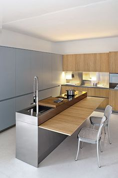 The kitchen renaissance continues as designers work to make kitchens efficient, aesthetically pleasing social hubs in the home. http://sourceable.net/kitchen-design-clean-slim-even-invisible/